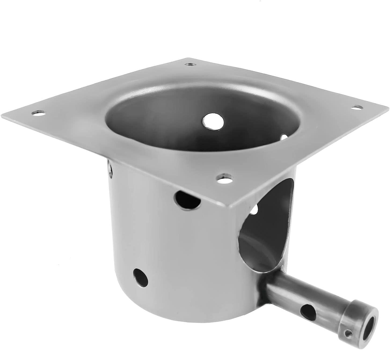 Wondjiont Fire Pot Burner Box Replacement for Traeger Grills