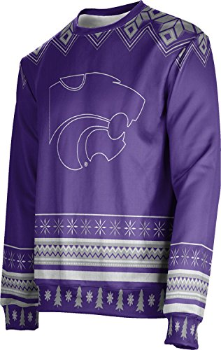 ProSphere Adult Kansas State University Ugly Holiday Festive Sweater