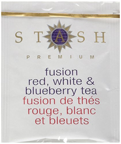 Stash Tea Fusion Red White & Blueberry Tea 10 Count Tea Bags in Foil (Pack of 12) (Packaging May Vary) Individual Tea Bags for Use in Teapots Mugs or Cups, Rooibos and White Tea, Brew Hot or Iced by Stash Tea (Image #7)