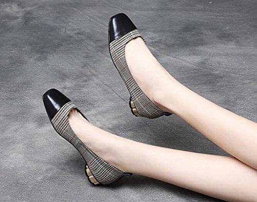 Zapatos de Mujer, Zapatos Cómodos Antideslizantes, Zapatos Individuales, Zapatos de Suela Poco Profundos Mujeres, Zapatos Ocasionales Cómodos B