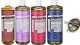 Dr. Bronner's Pure Castile Soap 4 Pack, 16 oz For Sale