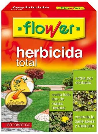 Flower Herbafin36 Herbicida Total, Transparente, 11x4x15 cm