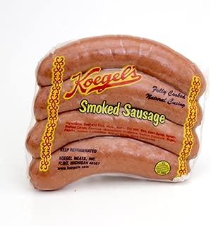 "product image for Koegel Smoked Sausage 20-6"" pieces"