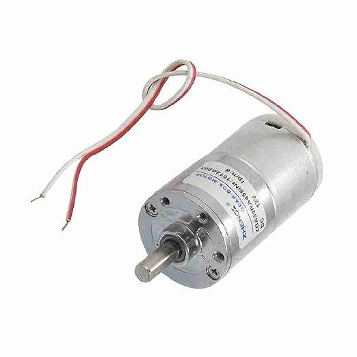 Con cable 6 mm Diámetro del eléctrico-horno-motorreductor 12VDC ...