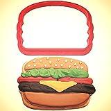 Hamburger Cookie Cutter 3.5 in