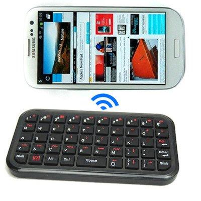 Black Bluetooth Wireless Keyboard For Samsung Galaxy S3 i9300 S3 Mini i8190 (Black)