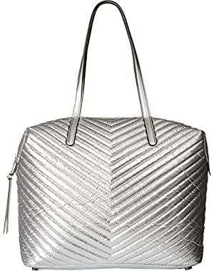 Womens Top Zip Tote