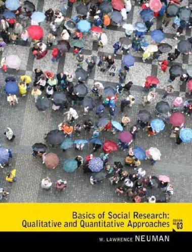 social research methods qualitative and quantitative approaches 6th edition Basics of social research: qualitative and quantitative approaches by w lawrence neuman and the literature review: six steps to success by lawrence a machi and brenda t mcevoy thousand research design: qualitative, quantitative, and mixed methods approaches by john w creswell.