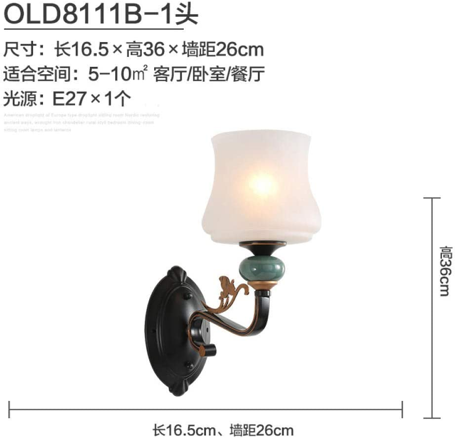 MBLYW Modern Style Wall Lamp LED Wall Lights American Ceramic Wall