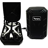 HobbyUnlimited Hard Shell Backpack Case for DJI Phantom 3 Standard / SE / Professional / Advanced / 4K / Phantom 4 / Phantom 4 Pro Drones
