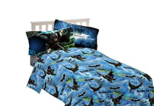Warner Bros Batman Forced Darkness Twin Sheet Set