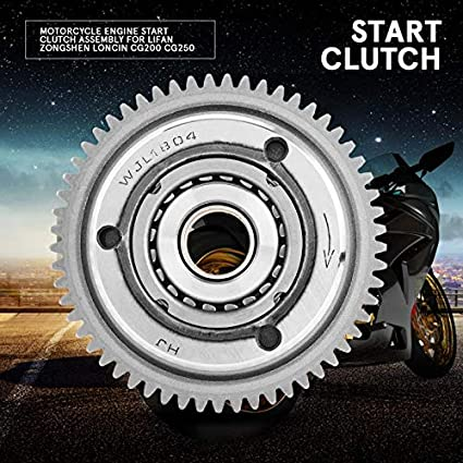 Amazon com: AjaxStore - Motorcycle Engine Start Clutch Assembly for