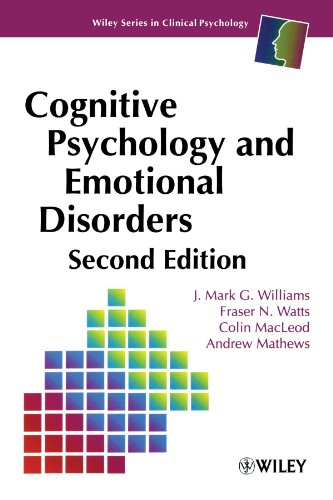 Cognitive Psychology and Emotional Disorders, 2nd Edition -  Williams, Mark G., Paperback