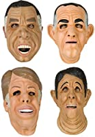 80sTees Point Break Mask Complete Set Tan
