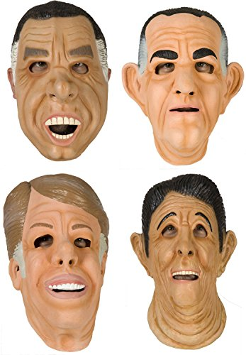 80sTees Point Break Mask Complete Set Tan]()
