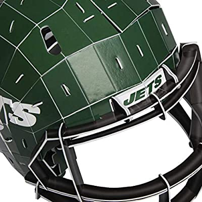 FOCO New York Jets NFL PZLZ Helmet: Sports & Outdoors