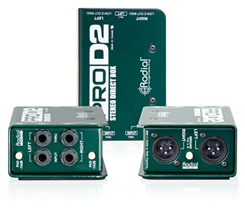 Radial ProD2 Passive 2 Channel Direct Box (3-Pack) by Radial