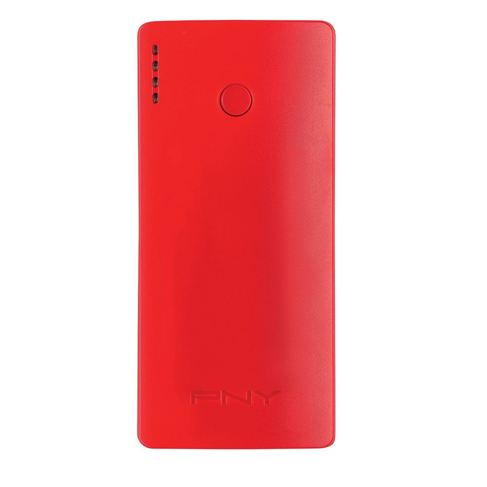 Red, Mobile phone//Smartphone,Tablet,MP3//MP4,GPS,E-book reader, Lithium-Ion 5200 mAh Li-Ion Bater/ías externas , 5200 mAh, USB, 5 V Li-Ion PNY PowerPack Curve 5200 bater/ía externa Red Lithium-Ion
