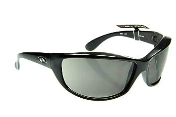 abd13eba900 Sundog Jinx - Designer Golf Sport Sunglasses with Ultra Flex TR90 Black  Frame and Smoke Lens