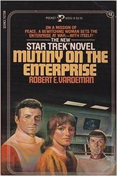 Book Mutiny on Enterprise Star Trek