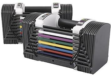 Ejercicio para levantamiento de pesas Powerblock Sport 5,0 mancuernas ajustables 2-22, 5kgs: Amazon.es: Deportes y aire libre