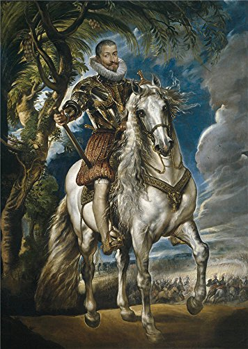 polyster Canvas ,the Beautiful Art Decorative Prints on Canvas of oil painting 'Rubens Peter Paul Equestrian Portrait of the Duke of Lerma 1603 ', 18 x 25 inch / 46 x 64 cm is best for Basement gallery art and Home decor and (Daisy Duke Costume For Adults)