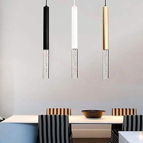 Lámpara colgante LED Luces colgantes Isla de cocina Comedor ...
