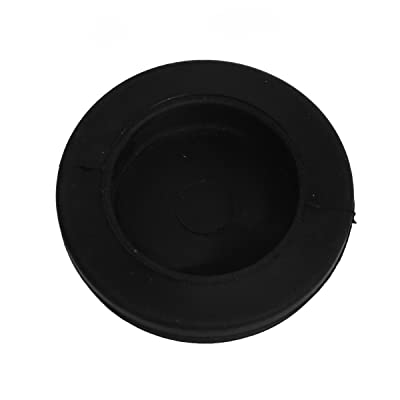 Solera Grommet - Diaphragm.75 ID x 1 OD, Black, for Manual Over-Ride Hole: Automotive