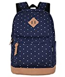 Best Backpack For Teenage Girls - Unisex Packable Lightweight Canvas College Backpacks Travel Hiking Review