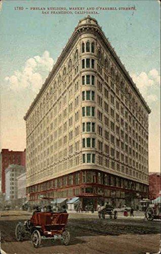 Phelan Building, Market and O'Farrell Streets San Francisco, California Original Vintage - Farrell Street O Francisco San