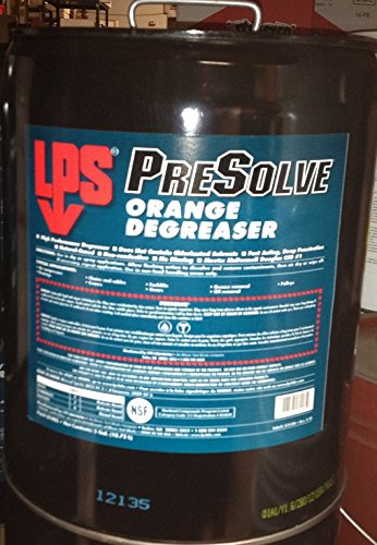 LPS 01405 PreSolve Orange Degreaser, Clear by LPS