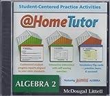 Algebra 2, Grades 9-12 At-home Tutor, Holt Mcdougal Staff, 0618627588