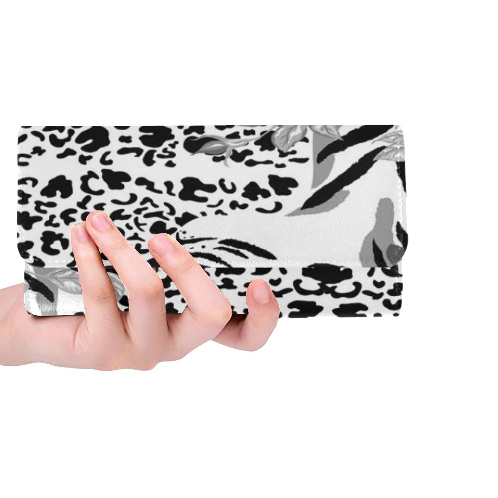 Único patrón abstracto sin fisuras Animal Print Tiger Stock ...