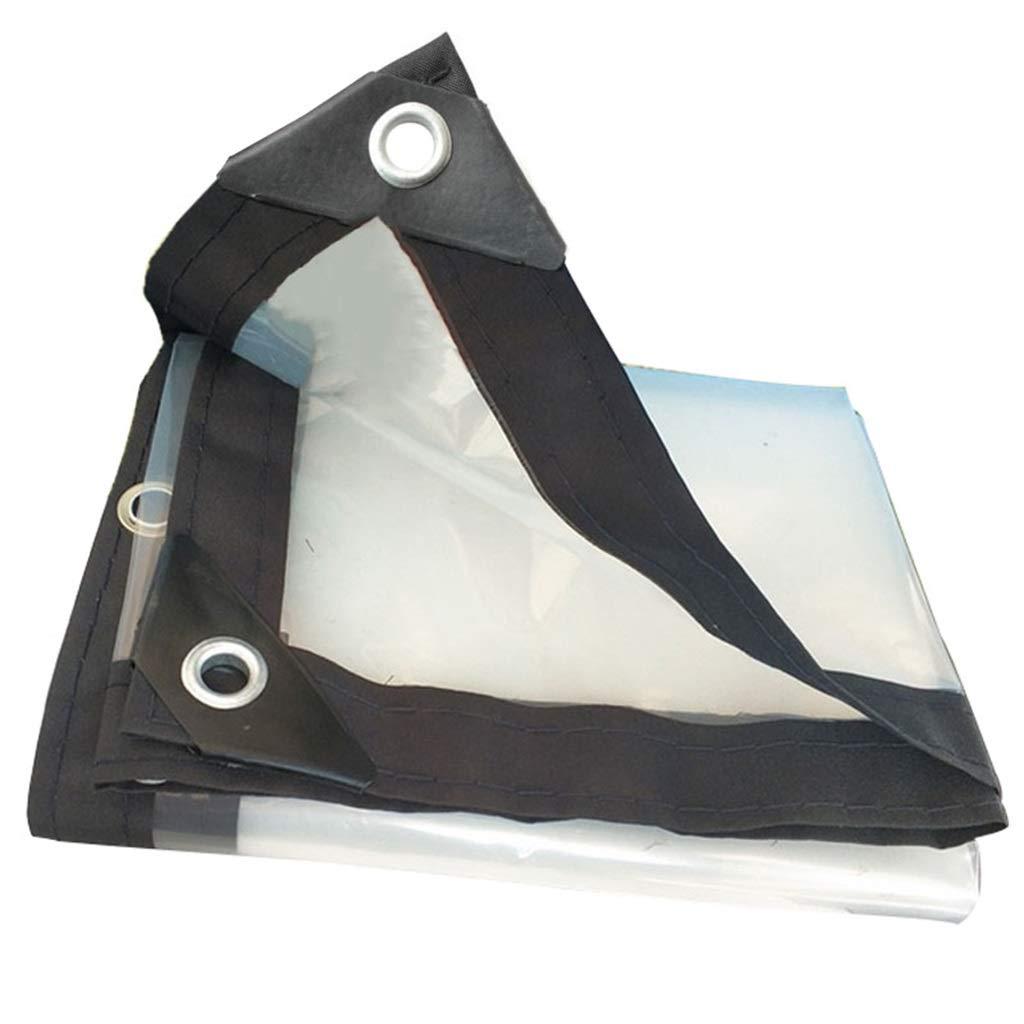 1mx2m BÂches claires BÂches sans Couture BÂches Prougeection Contre Le Soleil Isolation extérieure en Tissu Anti-Pluie d \ 'Ombre Durable pour Tout Usage