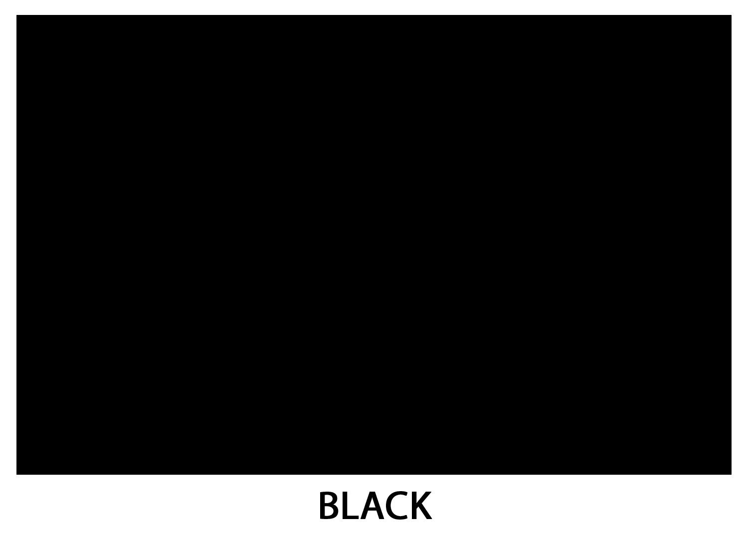 Bright Color Card Stock Paper, 11''x 17'', 50 Sheets, (Black)