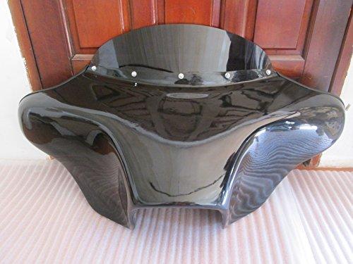 USA F12 GC+ F18 Harley Batwing Fairing Windshield 4 Softail Fat Boy Fatboy Heritage Deluxe Custom Slim 4x5 Speaker - Boy Harley Davidson Fat
