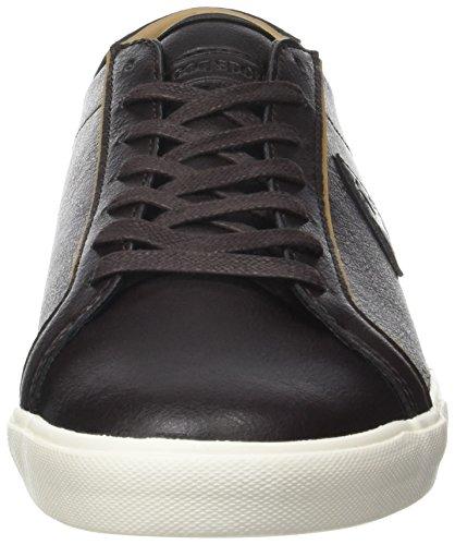 Le Coq Sportif Feret Atl Leather, Entrenadores Bajos para Hombre Marrón (Reglisse/tan)