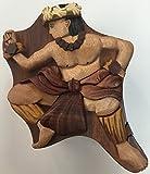 Wooden Hula Boy Puzzle Jewelry Box Design