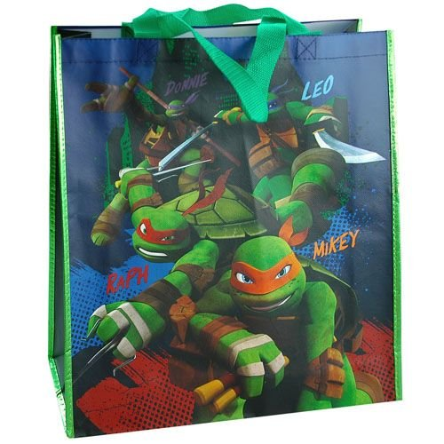 [Teenage Mutant Ninja Turtles Large Party Favor Gift Bag] (Nickelodeon Teenage Mutant Ninja Turtles Treat Bags)
