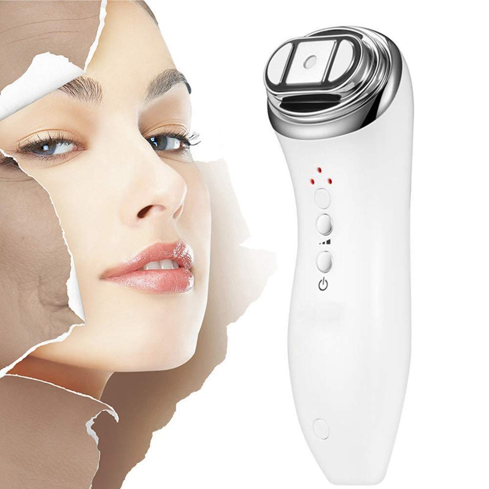 Portable HIFU High Intensity RF Facial Skin Rejuvenation Machine,LED Skin Rejuvenation Facial Machine, Face Lift Tighten Skin Firming Whitening,Wrinkles Remove Anti-Aging Beauty Salon Home Use Equipme by Jeann