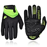 FIRELION Cycling Gloves Mountain Bike Gloves Road Racing Bicycle Gloves Gel...