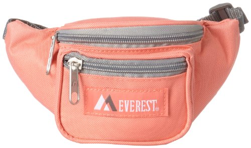 Everest Signature Waist Pack - Junior, Coral,
