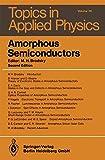 Amorphous Semiconductors, , 3540160086