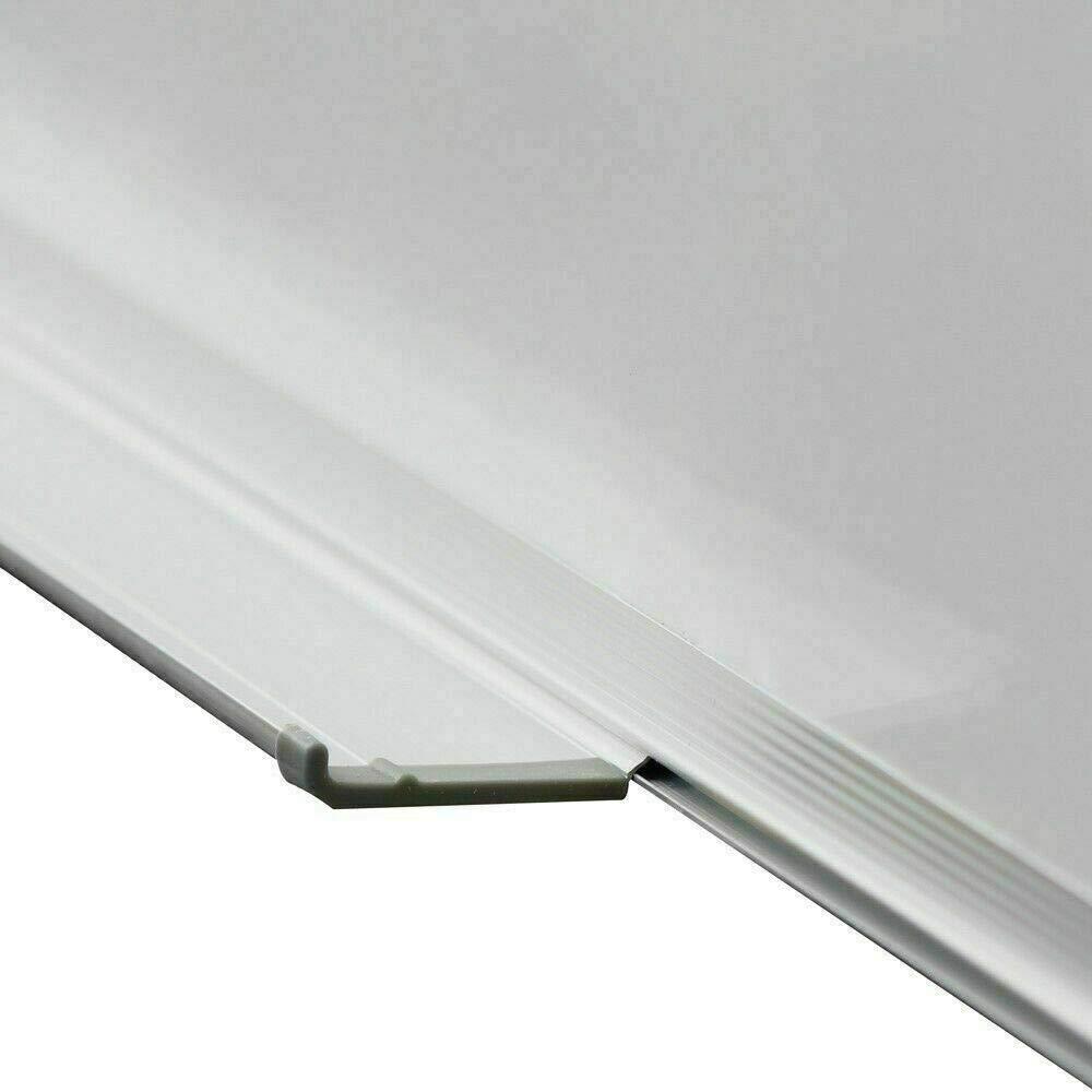 40 x 60cm Lavagna Magnetica Bianca Con Bordo In Alluminio Per Ufficio PRICEKILLER/® Cancellabile In Varie Misure 30x40-40x60-60x90 CM Scuola Casa