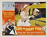 A Girl in Every Port POSTER Movie (1952) Style A 11 x 14 Inches - 28cm x 36cm (Groucho Marx)(Marie Wilson)(William Bendix)(Don DeFore)