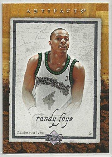Randy Foye 2007-08 Upper Deck Artifacts NBA Basketball Card #55 Minnesota Timberwolves