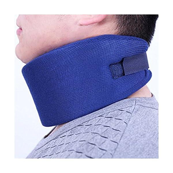 El collarín SUPVOX protege el collarín cervical médico soporte de soporte para la tensión del cuello, hombro, talla m… 8