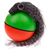 VEIREN Weasel Ball Motorized Ball Pet Cat Dog Chaser Toy Automatic Rolling Jumping Toy