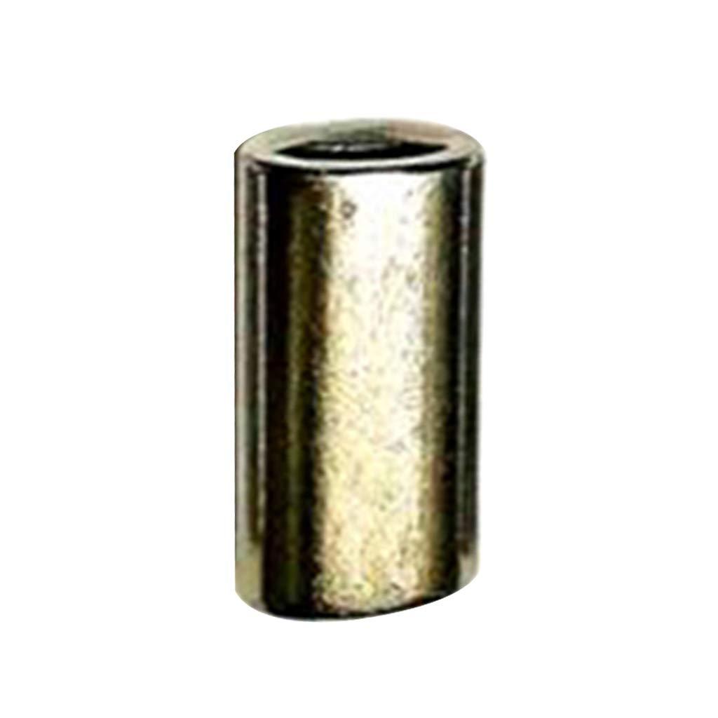 10x Edelstahl Pressklemme DIN3093 Ovale Pressh/ülsen f/ür 1-22mm Drahtseil 10mm