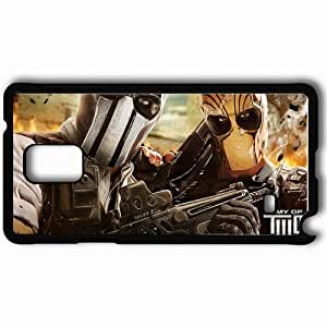 Personalized Samsung Note 4 Cell phone Case/Cover Skin Army Of Two The Devil S Cartel Black